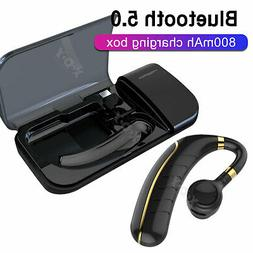 Wireless Bluetooth 5.0 Earpiece Driving Trucker Headset Earb