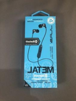 JLab Audio Metal Bluetooth Wireless Rugged Earbuds | Titaniu