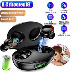 Wireless Bluetooth 5.0 TWS Headphone Headset Mini Stereo Tou