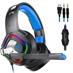 DoinMaster A66 Stereo Gaming Headset for PS4, PC, Xbox One C