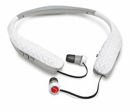 Lucid Audio Amped Bluetooth Neckband Earbuds - White