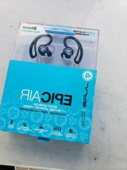 JLab Audio Epic Air Elite True Wireless Earbud Headphones Bl