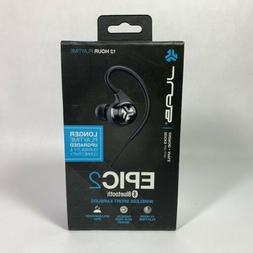JLab Audio Epic2 Bluetooth 4.0 Wireless Sport Earbuds