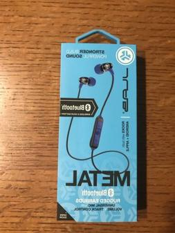 JLab Audio Metal Bluetooth Wireless Rugged Earbuds - Black /
