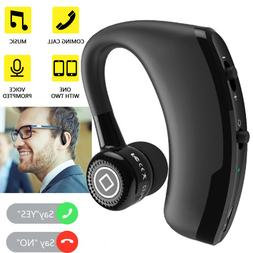 Black Business Bluetooth Headset Wireless V4.1 Earbud with M