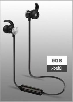 Bluetooth 4.1 SD6 Stereo Earphone Headset Wireless Magnetic