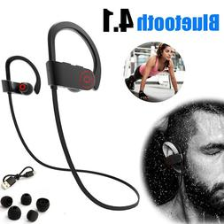 Bluetooth Sport Earphone Wireless Stereo Headset Noise Cance