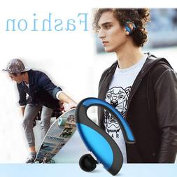 Bluetooth Headset Wireless Sports Stereo Earbud With Mic For