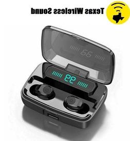 Bluetooth Wireless  Earbuds Earphones for Samsung Android Ap