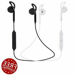 Bluetooth Wireless Sport Earbuds Earphones Headphones with M