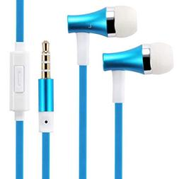 Compatible with Jitterbug Smart2 - Premium Sound Blue Earbud