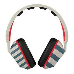Skullcandy Crusher Headphones with Mic Stripes/Tan/Navy, One