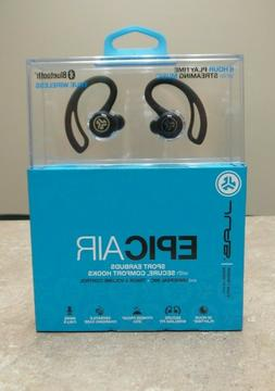 JLab Epic Air Wireless Sport Earbud Headphones ‑ Black - I