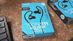 JLab Fit 2.0 Sport Wireless Bluetooth Earbuds  - Black - BRA