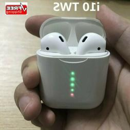 i10 TWS Wireless Earbuds Bluetooth 5.0 Mini Earphone Headpho