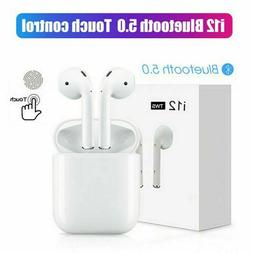 i12 Touch TWS Wireless Earbuds Bluetooth 5.0 Earphone For Ap