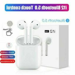 i12 TWS Wireless Bluetooth 5.0 Mini Earbud Touch Control 201