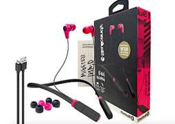 Skullcandy Ink'd Wireless Bluetooth Earbuds with Mic Pink