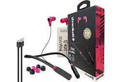 Skullcandy Ink'd Wireless, Bluetooth Lightweight Earbuds wit