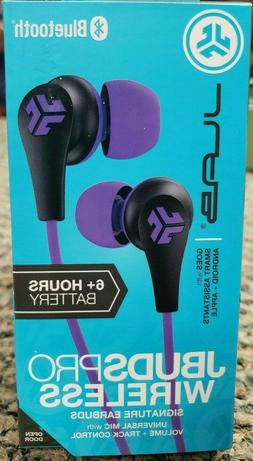 JLab JBuds Pro Wireless Earbuds Bluetooth Purple Violet 6+ H