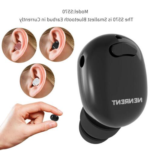 1 s570 bluetooth earbud smallest mini invisible