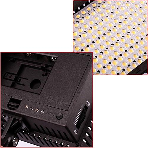 Dimmable High Power Panel / Light Pentax, Panasonic, Samsung and Digital Cameras