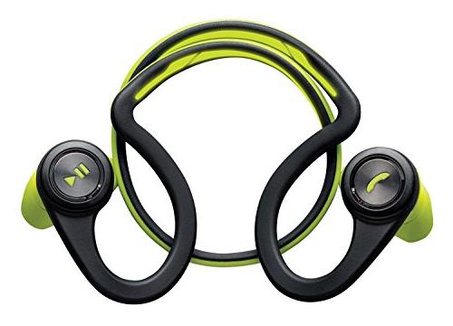 Plantronics BackBeat FIT Wireless Bluetooth - Earbuds Running Workout, Green, Packaging