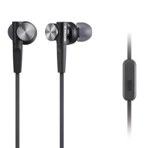 Sony Premium Lightweight Extra Bass Earbud Headphones with I