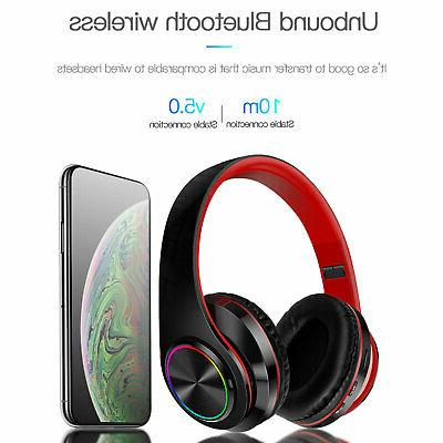 Bluetooth Over Stereo Wireless Headset
