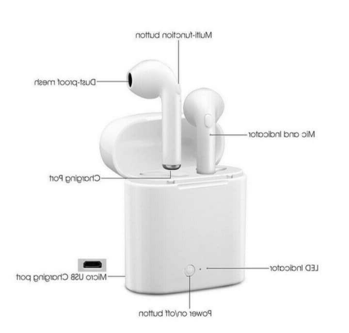 Airbuds Bluetooth Buds With and