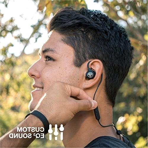 JLab Epic Sport Wireless Earbuds | Lifestyle Life Bluetooth | Built Noise Isolation | Gel Cush Fins |