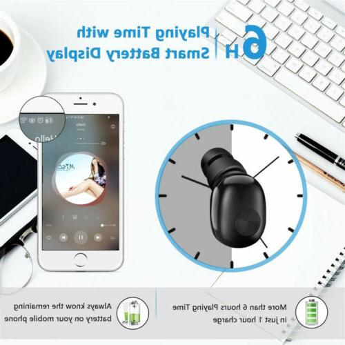 Bluetooth 4.2 Sport Wireless Headphone Headset Mini True