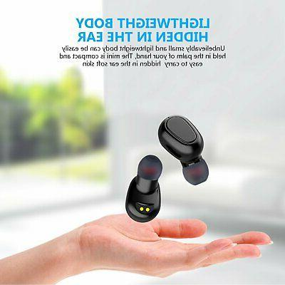 Bluetooth Earbuds Earphones Stereo Deep Bass