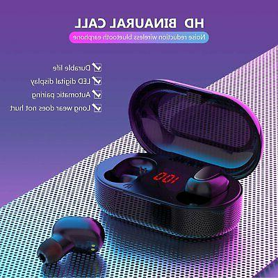 Bluetooth Earphones TWS Stereo Bass in-Ear