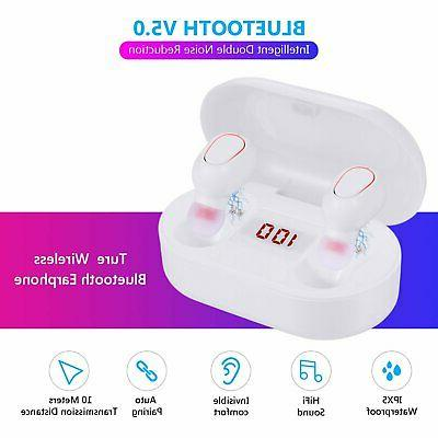 Bluetooth Earphones TWS Deep Bass in-Ear Headphones