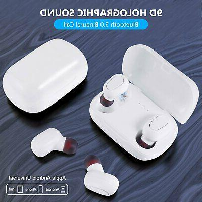 Bluetooth 5.0 Earbuds Earphones Bass