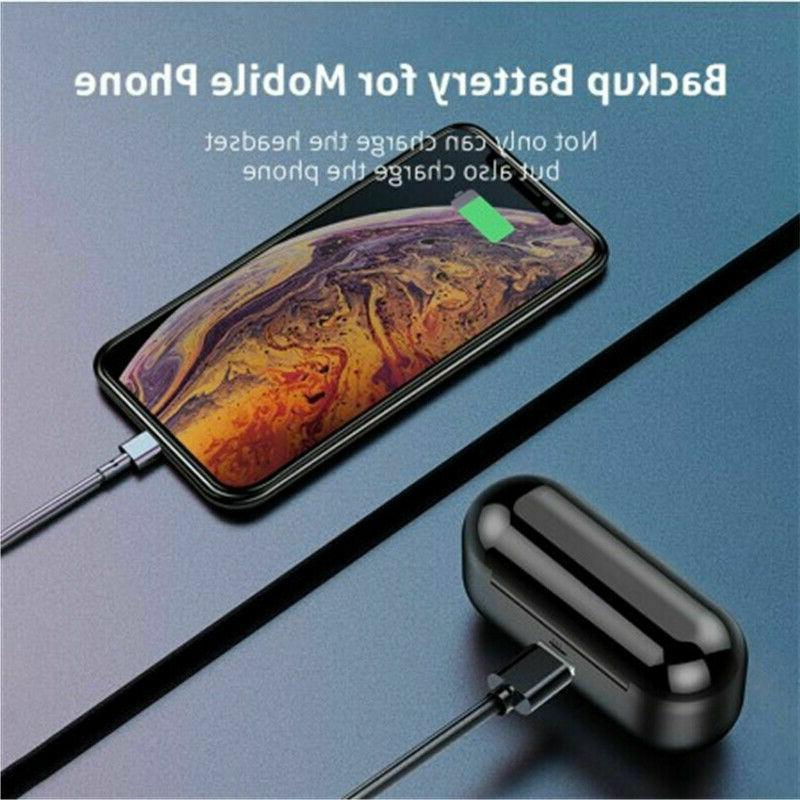 Bluetooth Wireless Earphones Stereo Air BLK