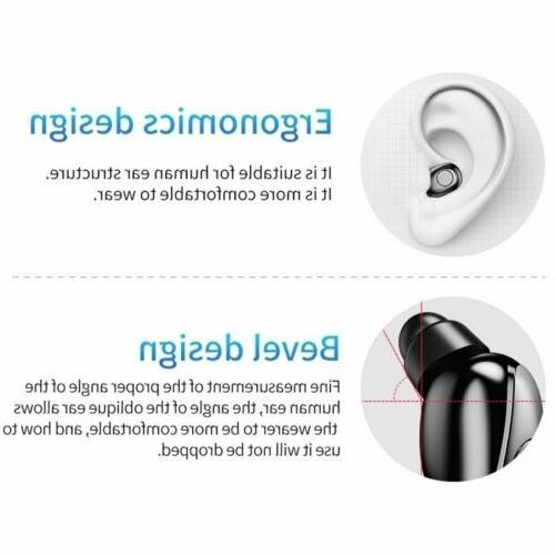 Waterproof Bluetooth Earbuds Headphones Headset Cancelling