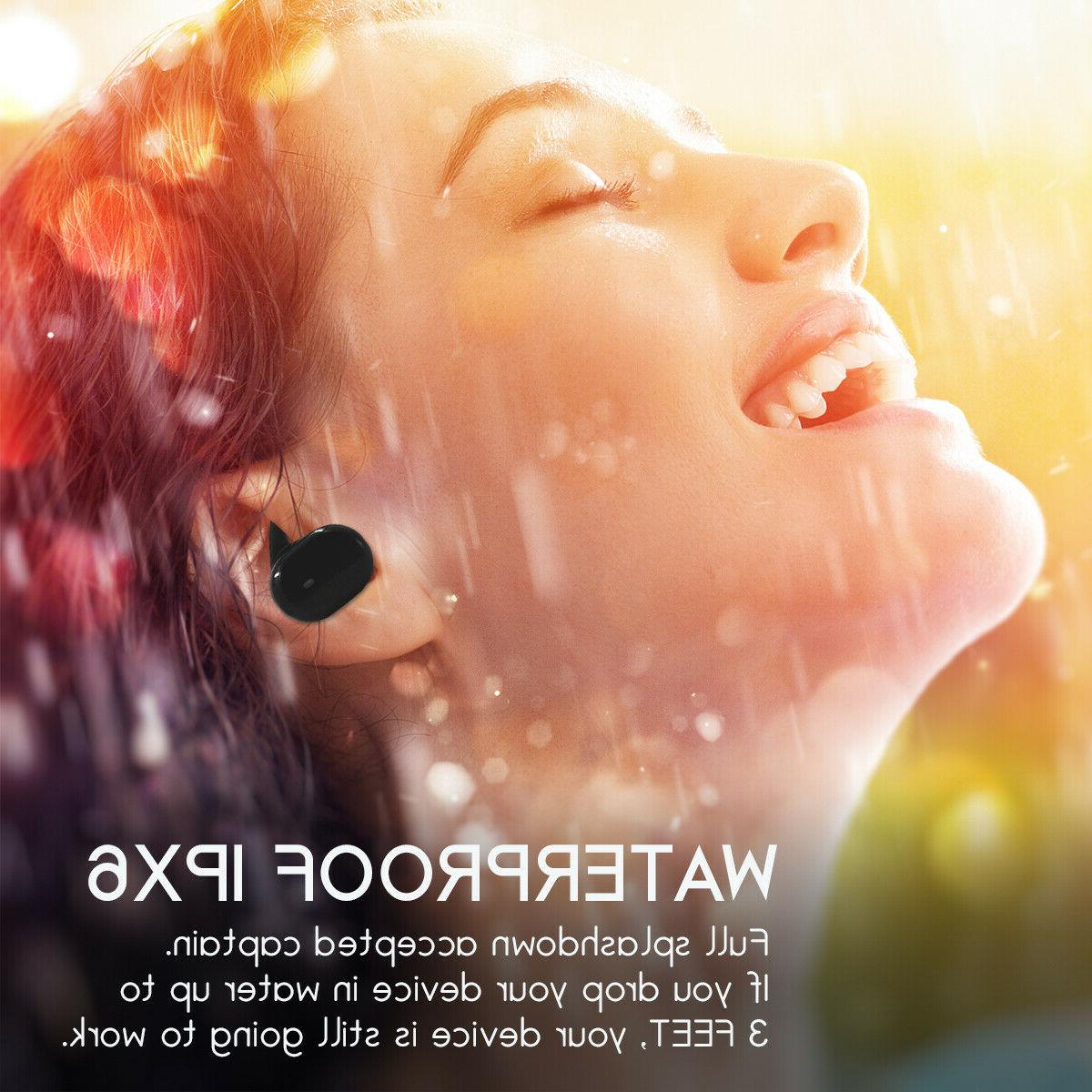 Bluetooth 5.0 Wireless Touch Earbuds Headphone