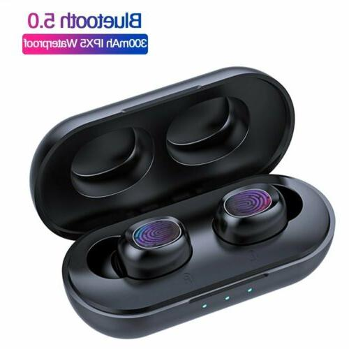 bluetooth earbuds headset for iphone android samsung