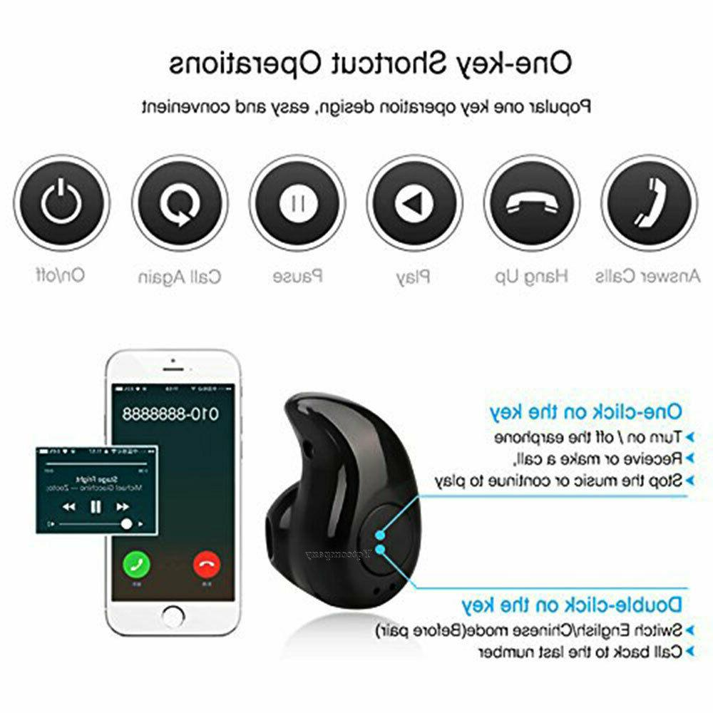 Mini Bluetooth In-Ear For Phones