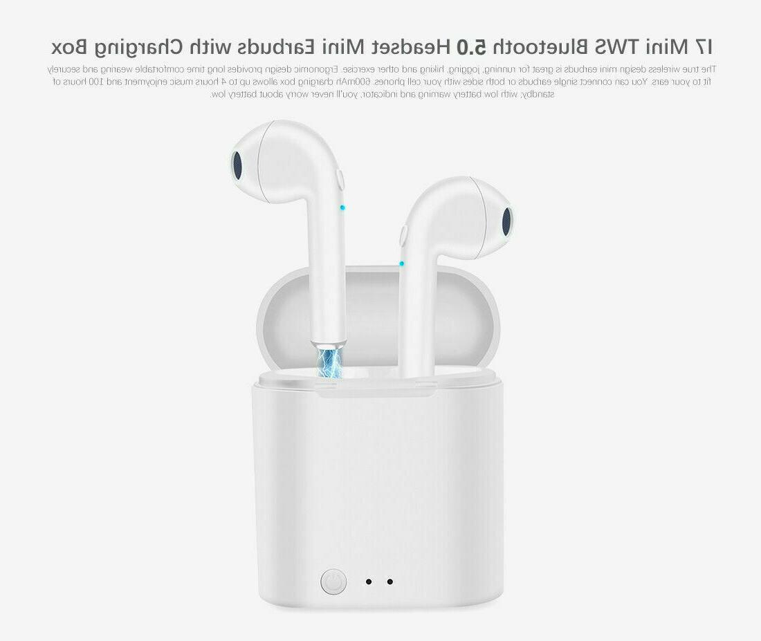 Bluetooth Earbuds Earpods iPhone Samsung Airpods