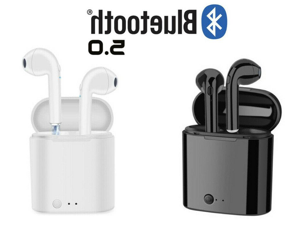 bluetooth earbuds for earpods iphone android samsung