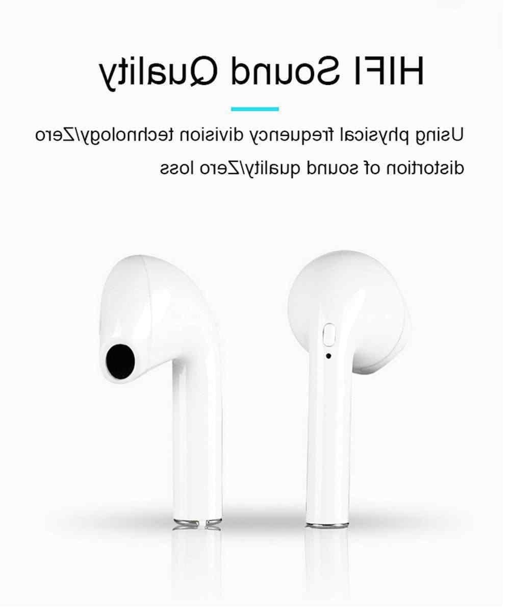 Bluetooth For iPhone Android Samsung Earpods Wireless Earbuds Airpods