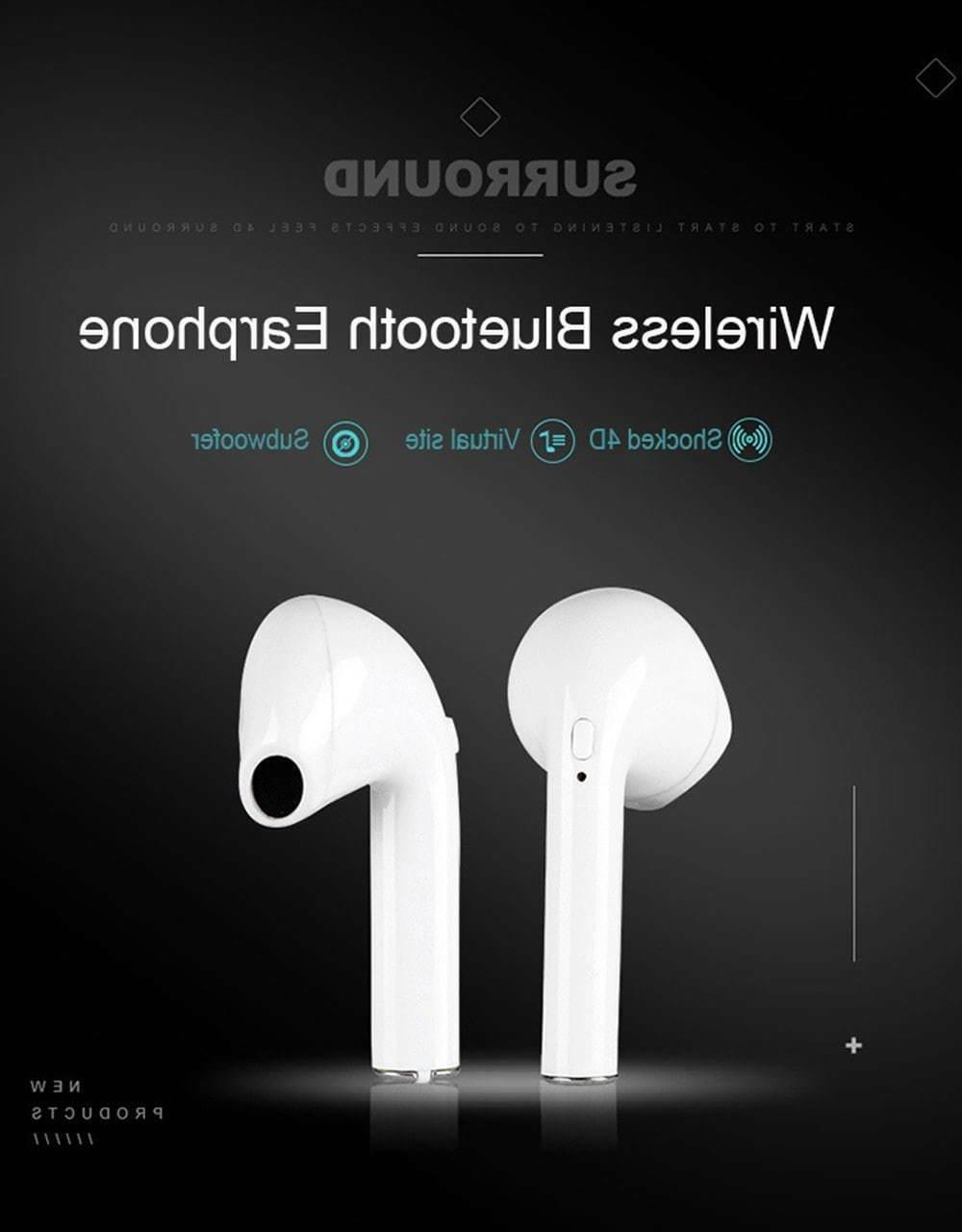 Bluetooth Headphones For Android Earbuds Airpods