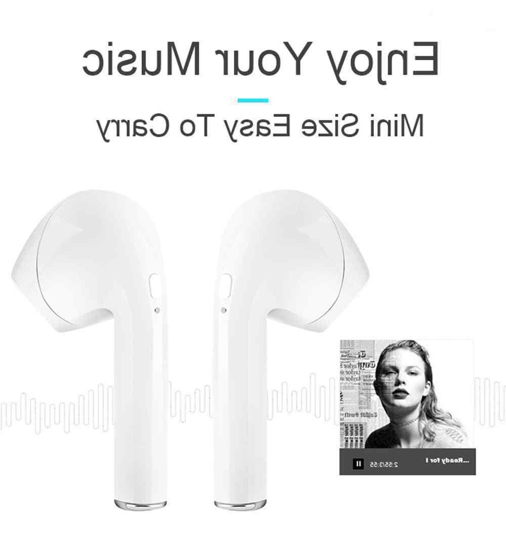 Bluetooth Headphones For iPhone Android Samsung Earpods Wireless Earbuds Airpods