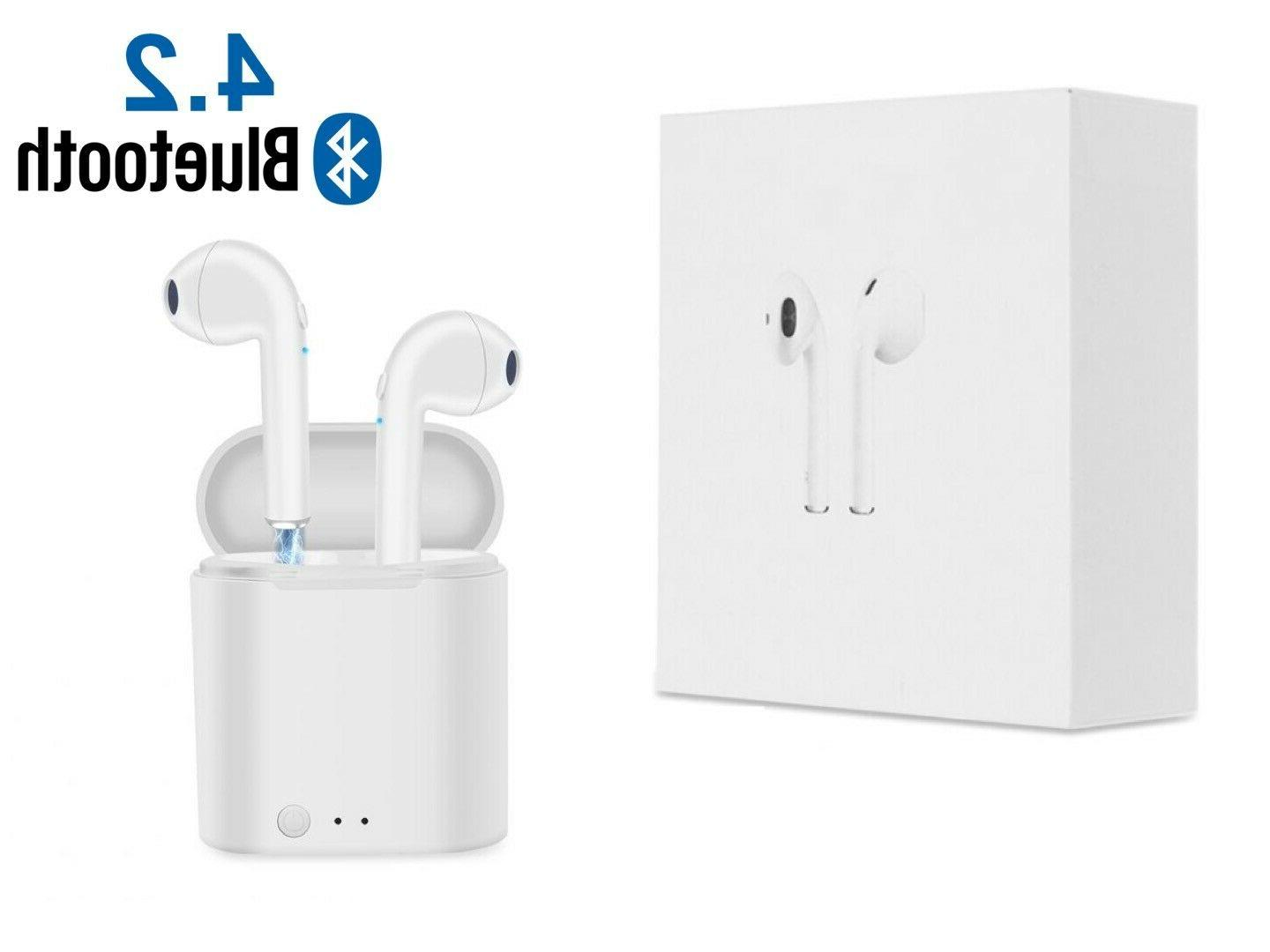 bluetooth headphones for iphone android samsung earpods