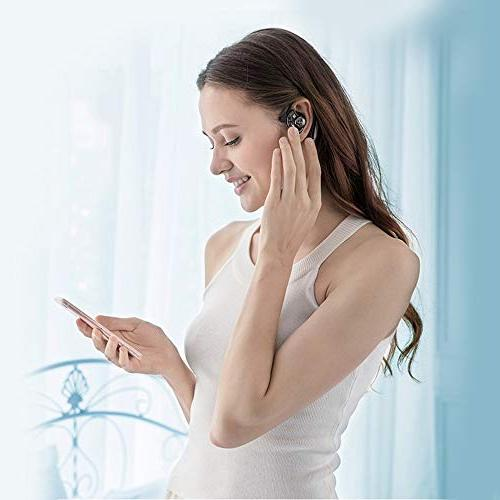 Aminy Bluetooth with Android Time Car Earphones Cell Phone Noise