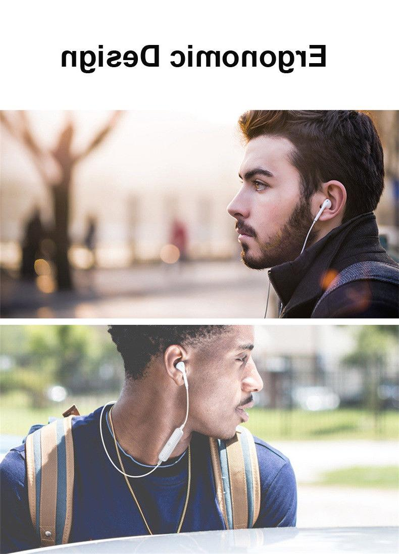 Bluetooth Stereo Headphones Earphone Earbuds With Mic