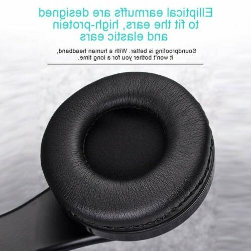 Bluetooth Noise Cancelling Over Ear Stereo Wireless